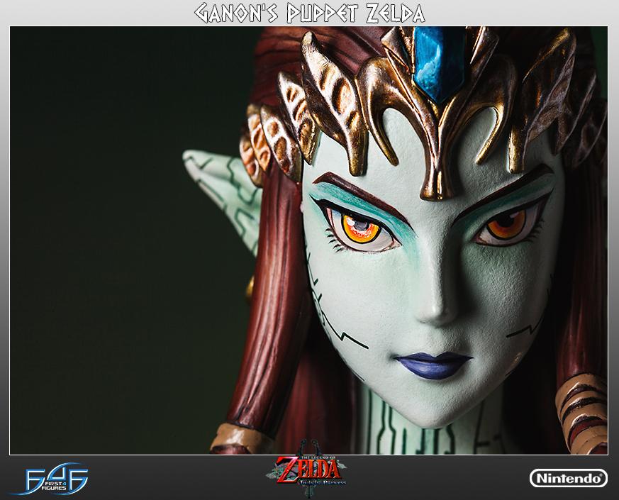 Legend Of Zelda Twilight Princess Zelda Ganon S Puppet Statue First 4 Figures F4f