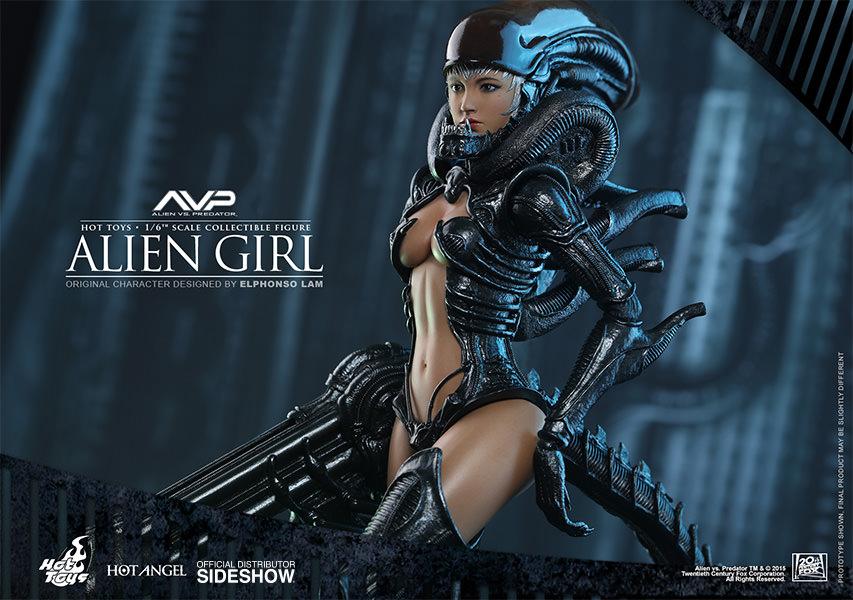 Avp Hot Angel Series  Alien Girl Sixth Scale Figure Hot -1327