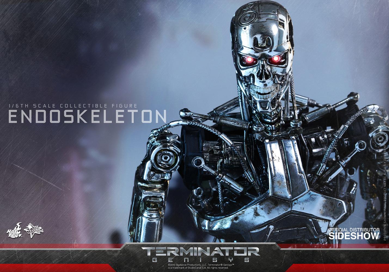 Terminator Genisys Endoskeleton Sixth Scale Figure Hot ...