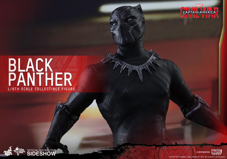 Black Panther 16 Sixth Scale Movie Masterpiece Figur Captain