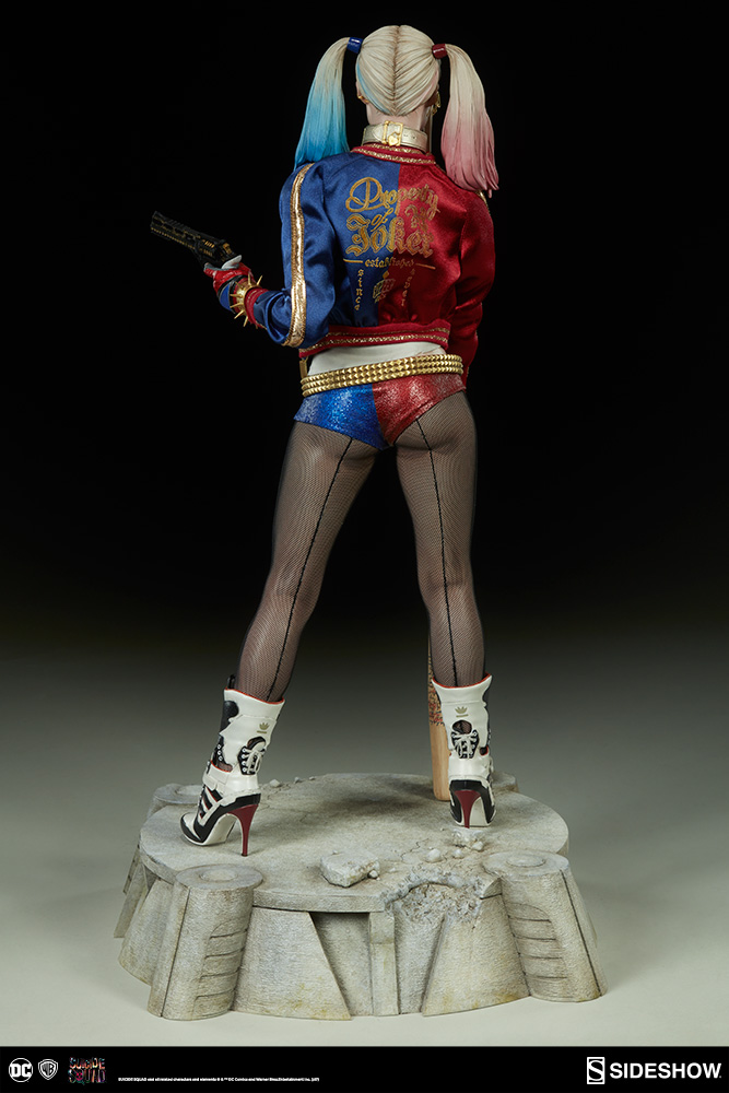 harley quinn premium format� figure sideshow collectibles