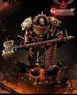 Warhammer 40K Dawn of War III Statue Gabriel Angelos10