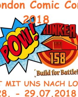 bunker comic con london 2018