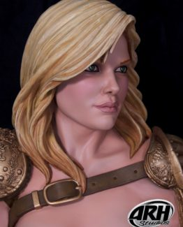 Arhian Head Huntress half scale bust ARH Bunker158 7