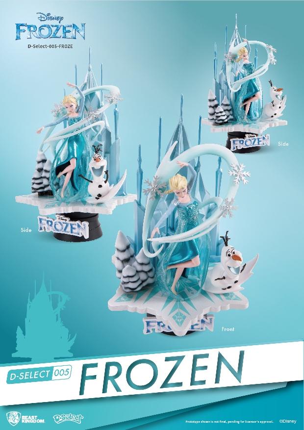 Disney Frozen Pvc Diorama By Beast Kingdom Bunker158 Com