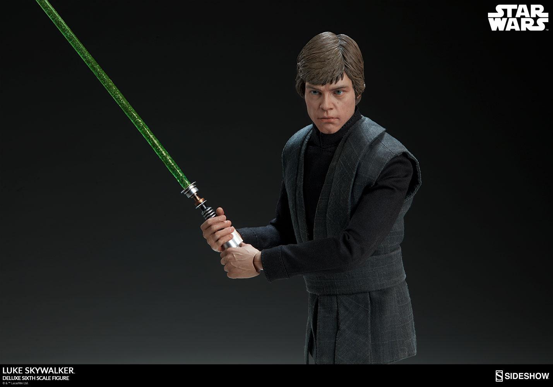 Luke Skywalker Deluxe Sixth Scale Figure by Sideshow ...