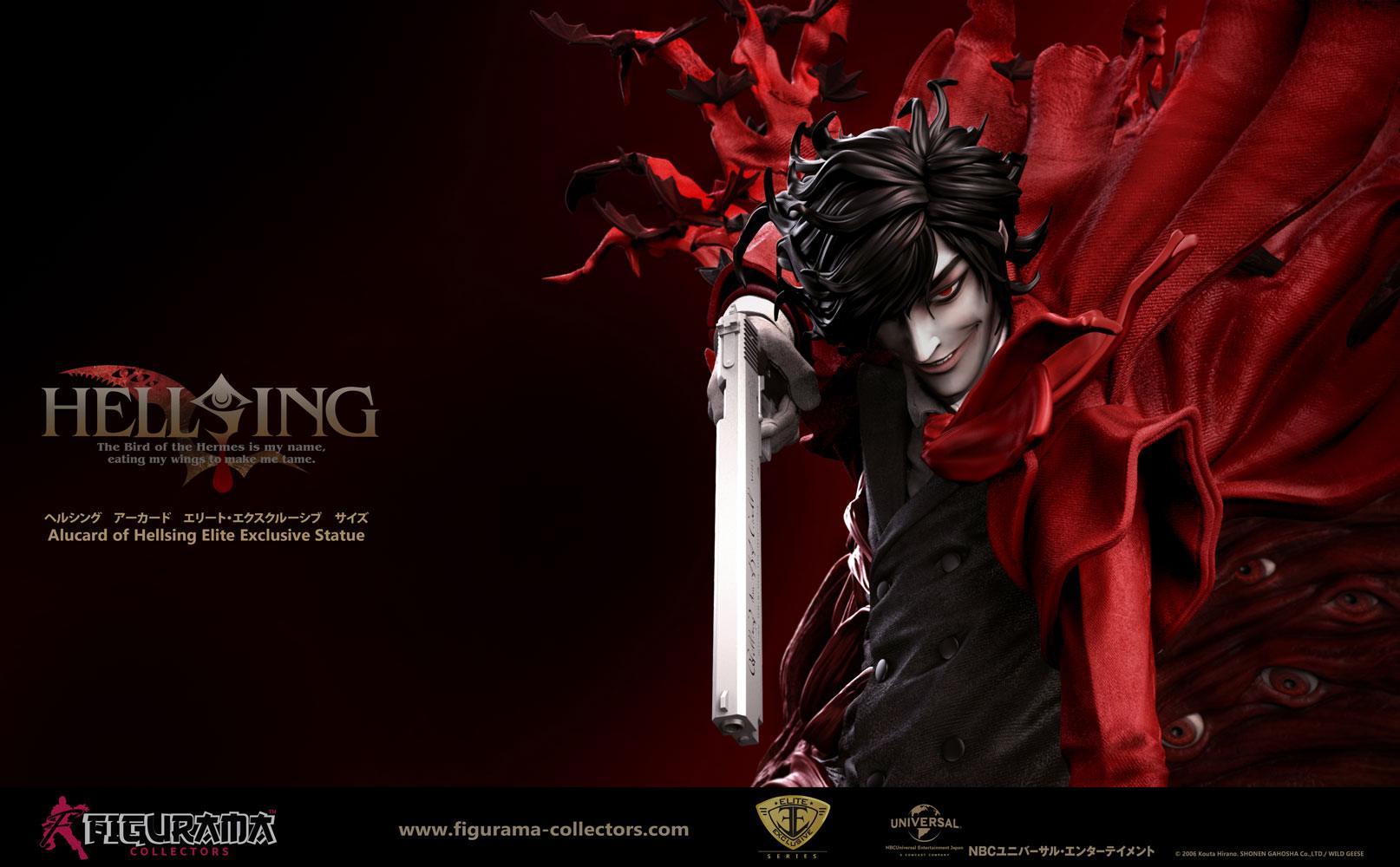 Hellsing Ultimate Elite Exclusive Statue Alucard 67 cm ...