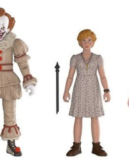 IT 2017 Pennywise - Ben and Beverly Action Figure 3 Pack funko