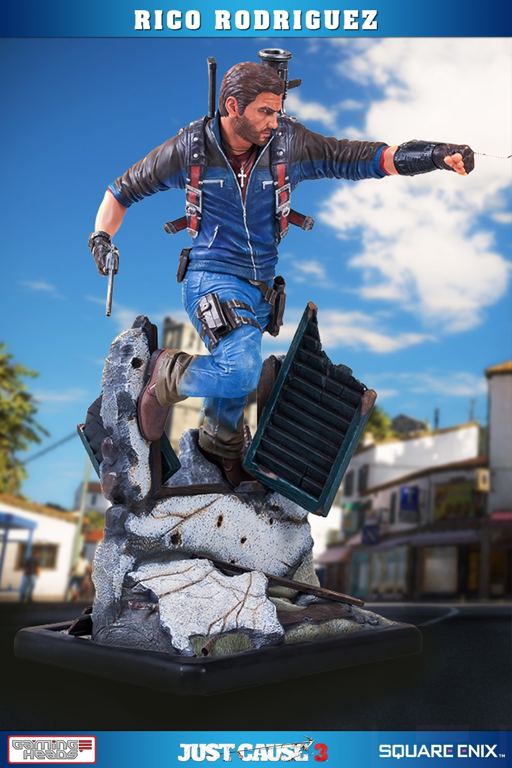 Just The Essentials Celebrating The Pre K Graduate With A: Just Cause 3 Statue 1/4 Rico Rodriguez 79 Cm Von Gaming