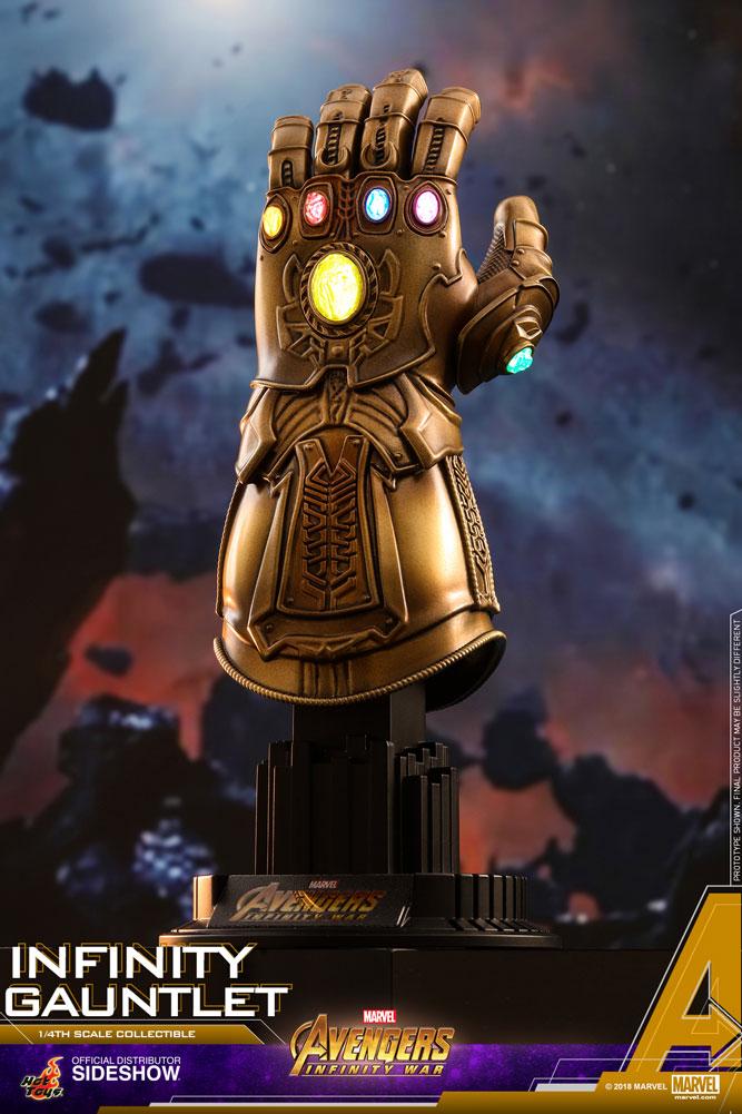 Marvel Avengers Infinity War Infinity Gauntlet 1 4 Scale Statue Bunker158 Com
