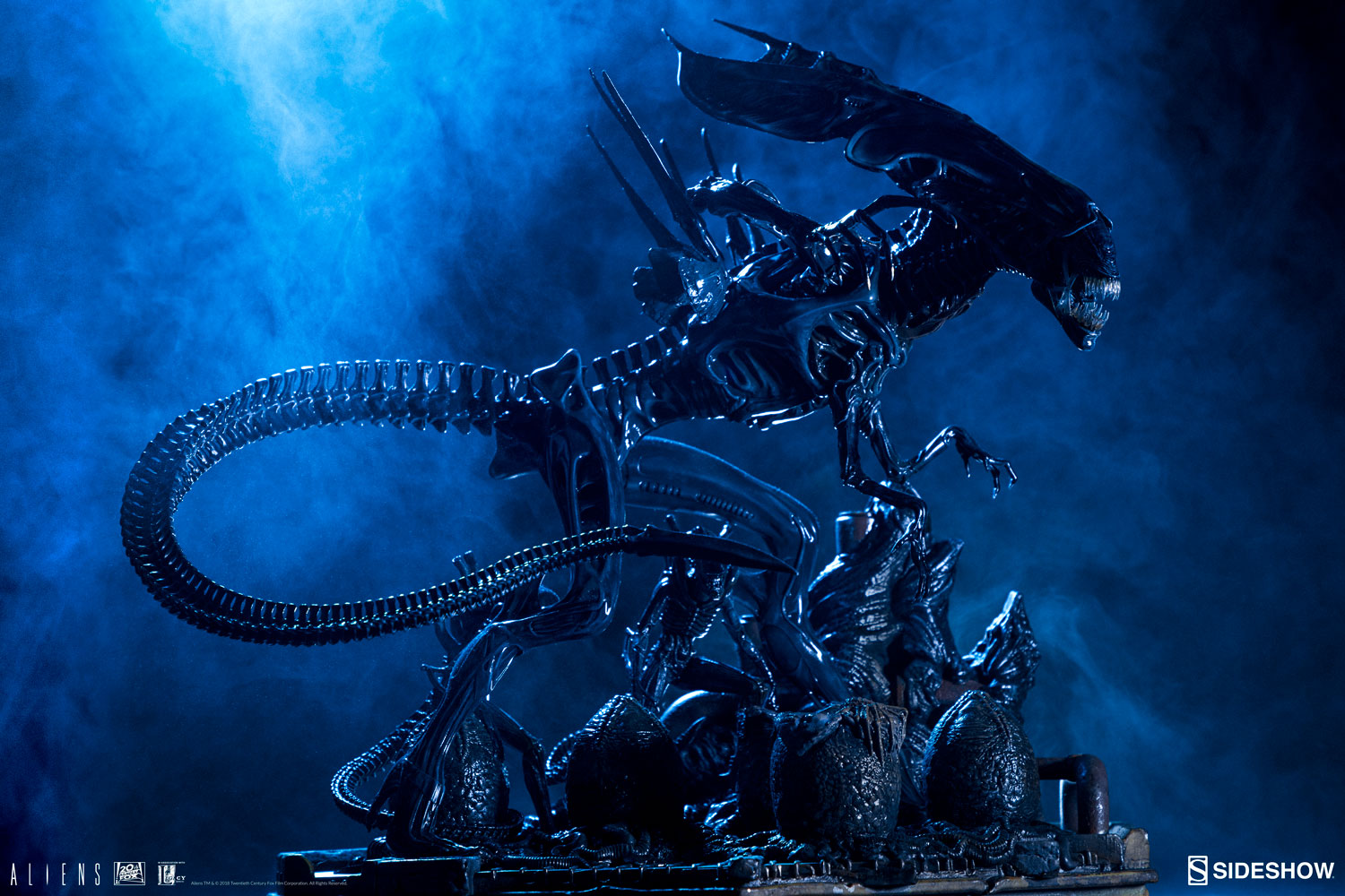 Alien Queen Maquette by Sideshow Collectibles Sideshow ... Xenomorph Queen