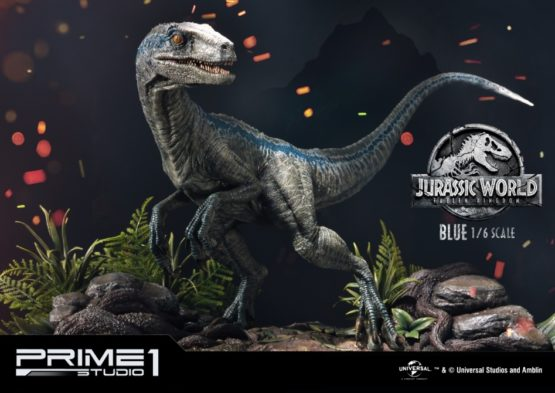 Jurassic World Fallen Kingdom - Blue 1 / 6 Scale Statue Prime1 Studio  Jurassic Park Raptor EXCLUSIVE (Baby Blue)