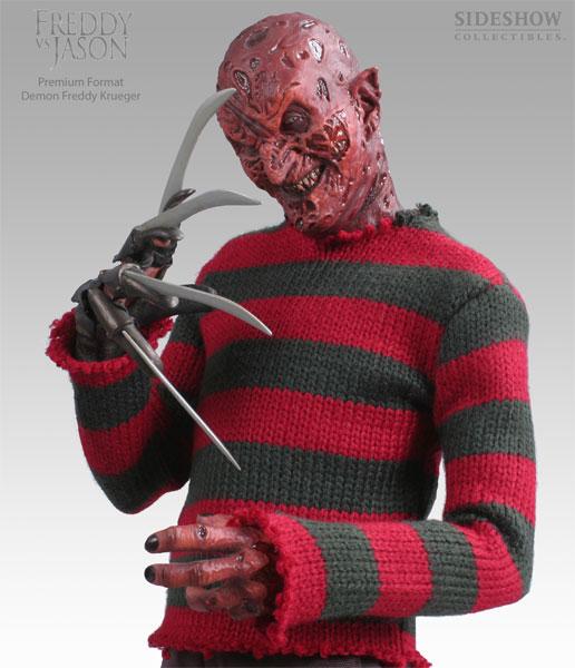 Demon Freddy Krueger Exclusive Freddy Vs Jason Premium Format
