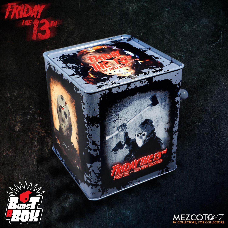 Mezco-Friday The 13th-Jason Burst-A-BOX-NUOVO