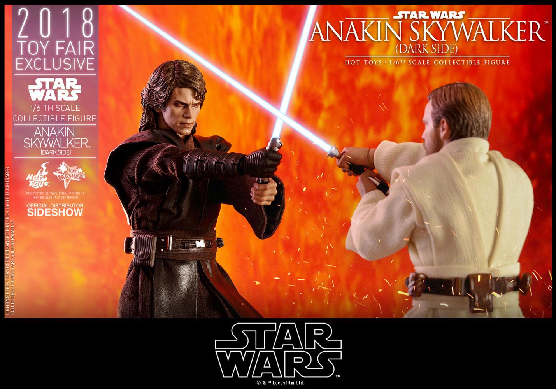 Anakin Skywalker (Dark Side) Sixth Scale Figure by Hot ...