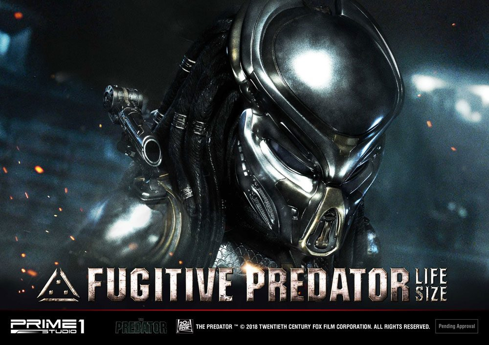 Fugitive Predator 76 Cm Life Size Busts