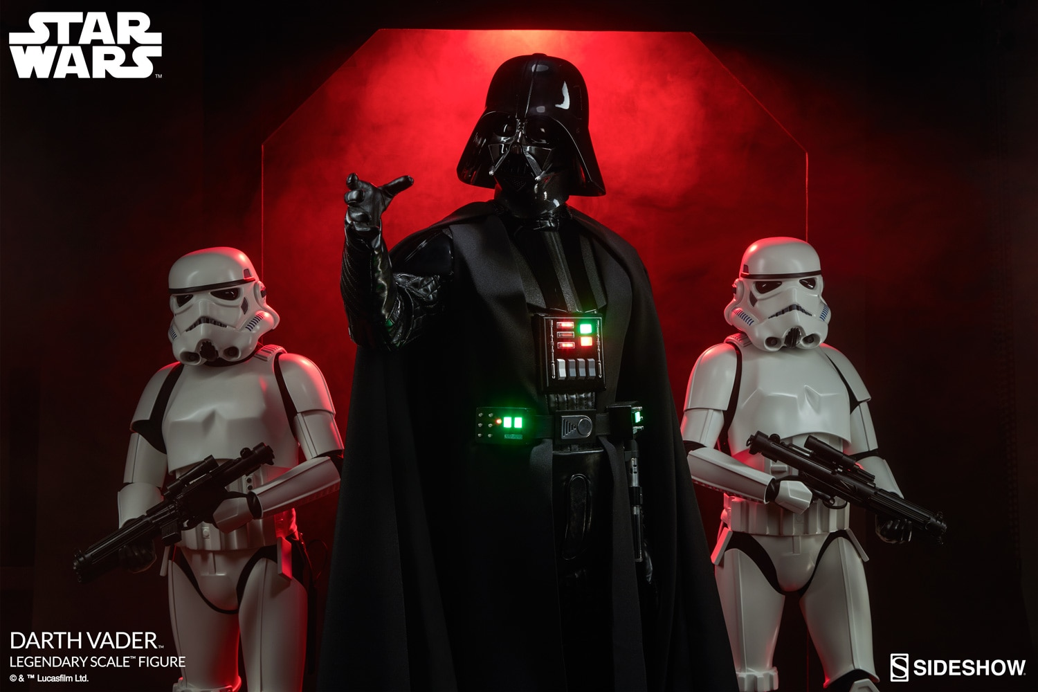Darth Vader Legendary Scale Figure By Sideshow Collectibles Ca 119 Cm Gross Star Wars