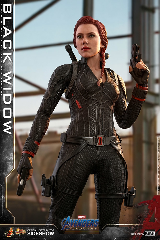 Black Widow Sixth Scale Figure By Hot Toys Avengers Endgame Movie Masterpiece Series