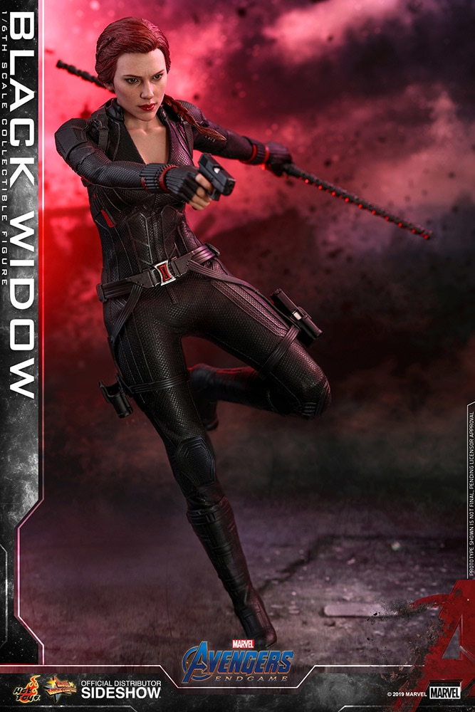 black widow sixth scale figure by hot toys avengers