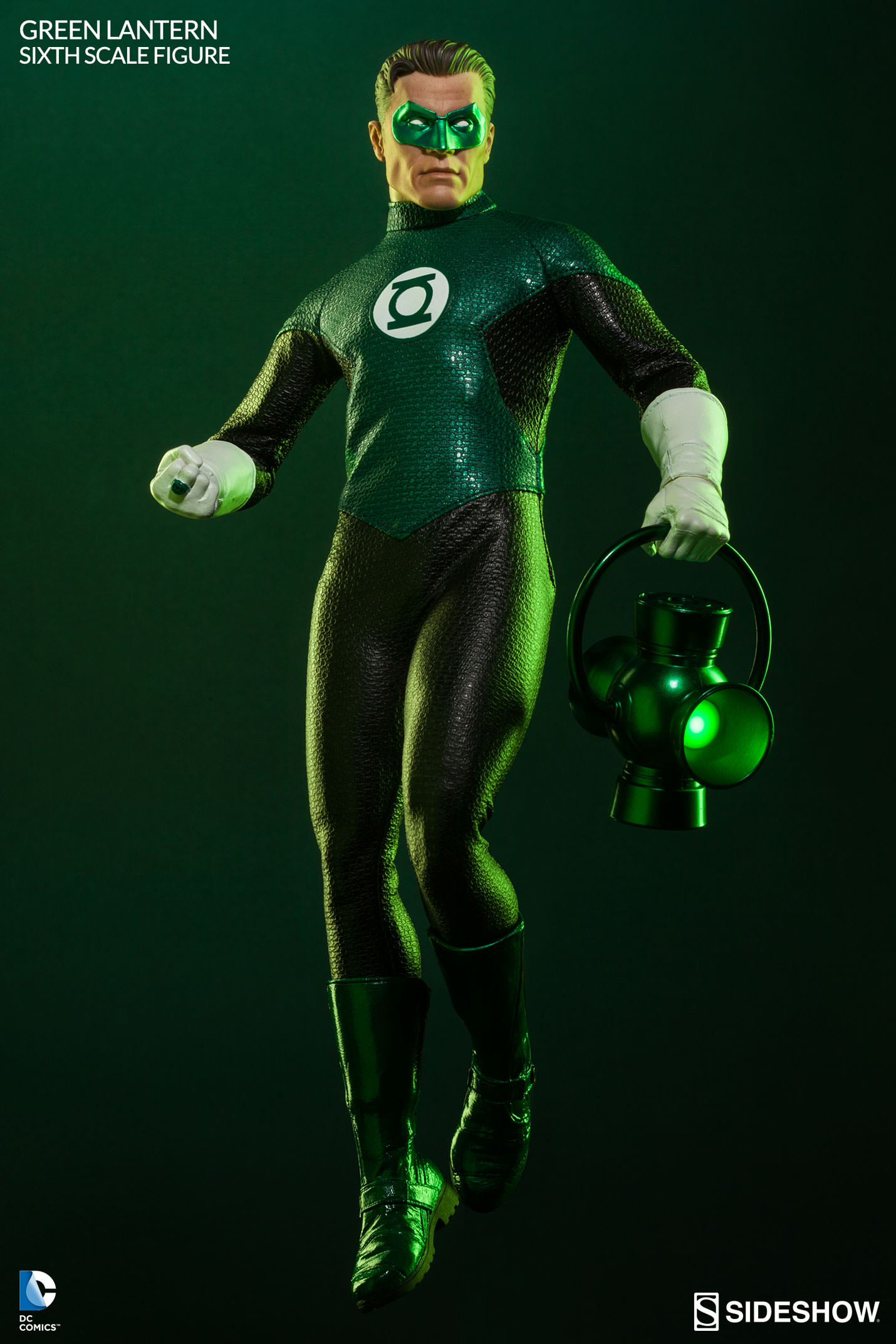 It is a graphic of Wild Pictures of Green Lantern