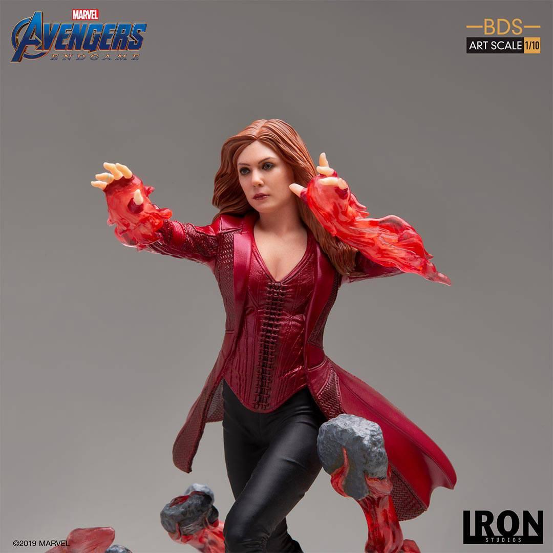 Endgame BDS Art Scale Statue 1//10 Scarlet Witch 21 cm Iron Studios Avengers