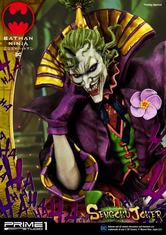 Batman Ninja Sengoku Joker Deluxe Version By Prime1 Ca 71 Cm Bunker158 Com