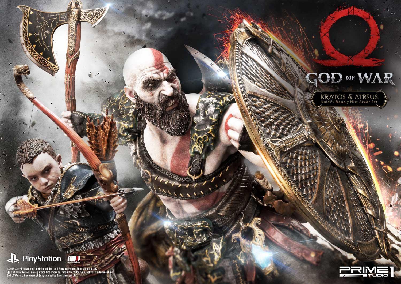 Kratos Atreus Ivaldi S Deadly Mist Armor Set Ca 73 Cm By Prime1