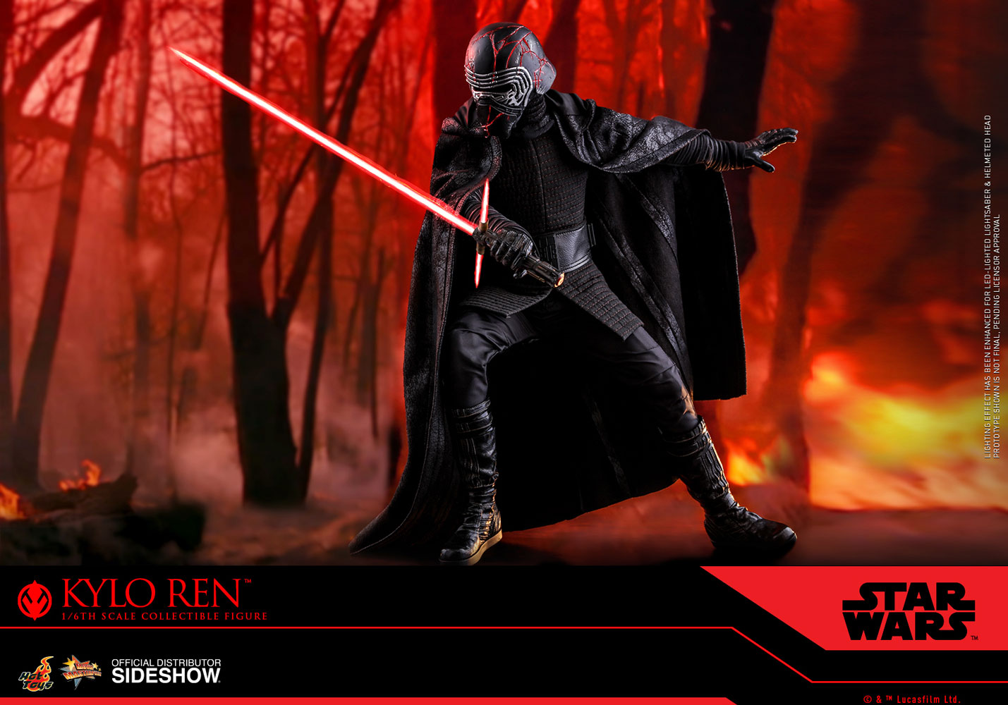 Kylo Ren Sixth Scale Figure By Hot Toys The Rise Of Skywalker Movie Masterpiece Series