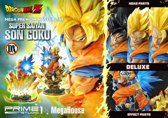 Super Saiyan Son Goku Deluxe Version By Prime1 Ca 66 Cm