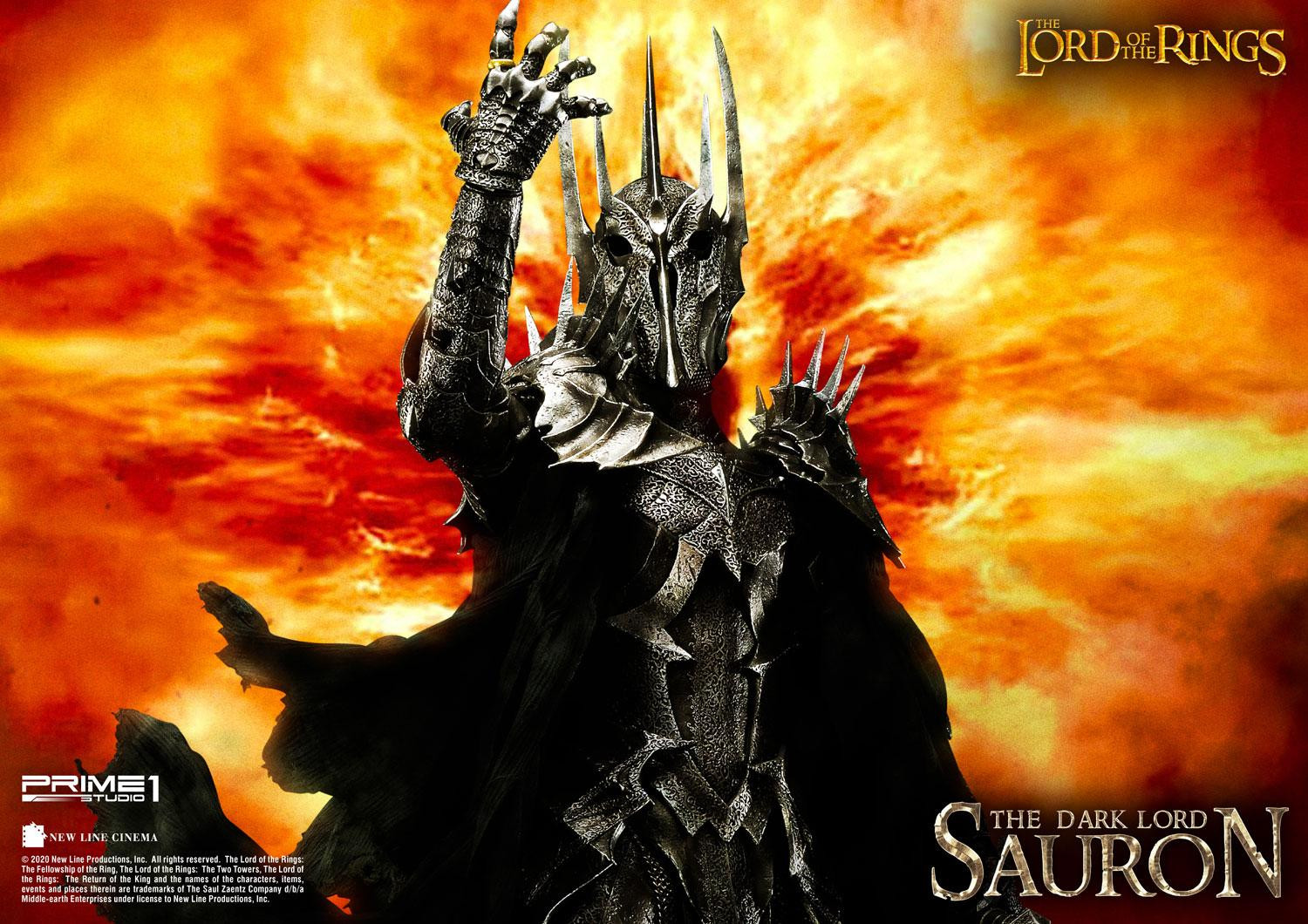 SAURON The Lord of the Rings (Film) The Dark Lord of Mordor – Prime1 Movie  ca 109 cm EXCLUSIVE VERSION – bunker158.com