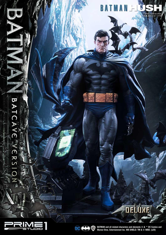 Batman Hush Comics Batman Batcave Version By Prime1 Deluxe Version Ca 88 Cm Bunker158 Com