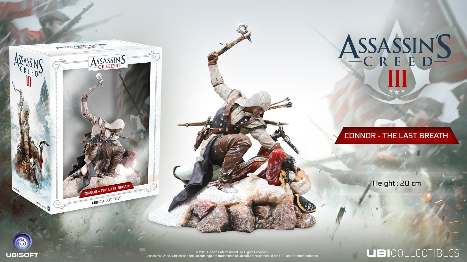 Assassins Creed Connor The Last Breath Statue Von Ubisoft